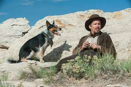 """Jumpy the Dog (left) and Ethan Hawke are heading for Mexico when things get squirrely in """"In a Valley of Violence."""""""
