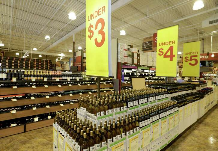 An interior view of Total Wine, 7640 Cypress Creek Parkway, is shown Tuesday, Oct. 25, 2016, in Houston.  Total Wine is a new-to-market liquor store that will opening soon in the Willowbrook area.