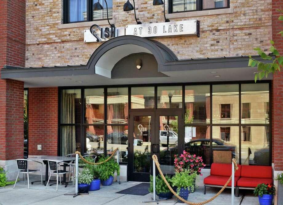 Entrance at Fish at 30 Lake restaurant Thursday July 21, 2016 in Saratoga Springs, NY.  (John Carl D'Annibale / Times Union) Photo: John Carl D'Annibale / 20037373A