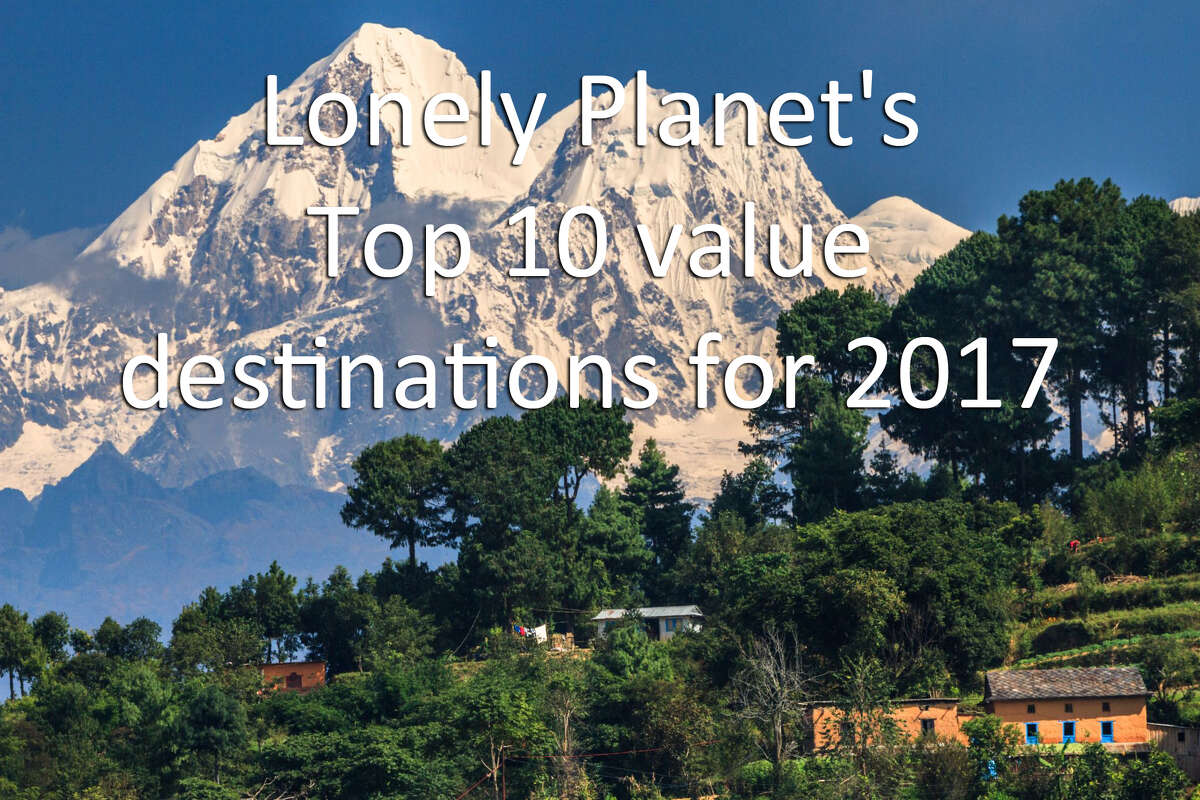 Check out the 2017 Lonely Planet ranking of the best value travel.