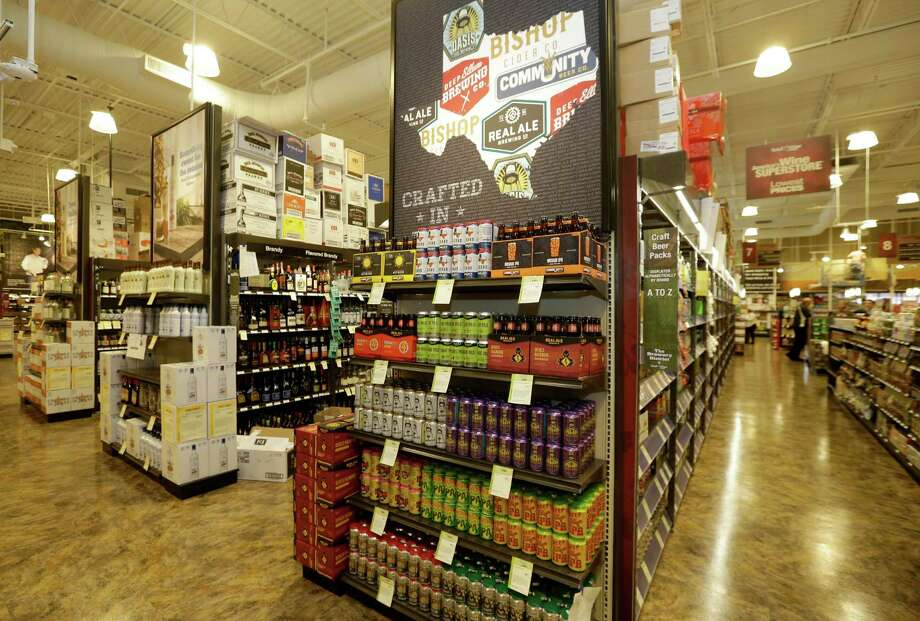 An interior view of Total Wine, 7640 Cypress Creek Parkway, is shown Tuesday, Oct. 25, 2016, in Houston.  Total Wine is a new-to-market liquor store that will opening soon in the Willowbrook area. Photo: Melissa Phillip, Houston Chronicle / © 2016 Houston Chronicle