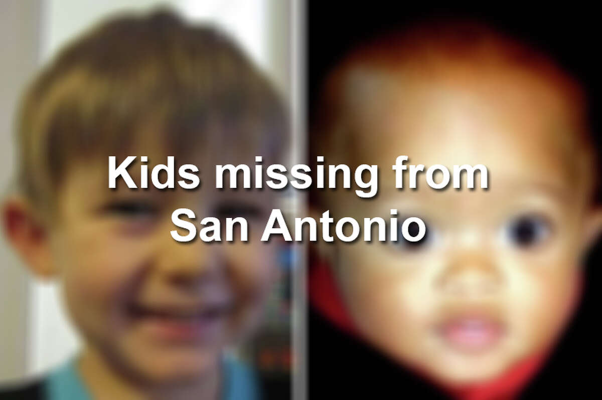 Click ahead to see children who went missing in San Antonio.