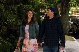 """Lauren Graham and Scott Patterson in a still from Netflix's """"Gilmore Girls: A Year In The Life."""""""