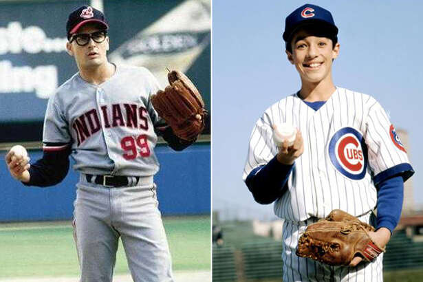 "Ricky ""Wild Thing"" Vaughn (Charlie Sheen, left) and Henry Rowengartner (Thomas Ian Nicholas, right) were two of the most feared pitchers in baseball in the early 90s ... even if they were fictional characters."