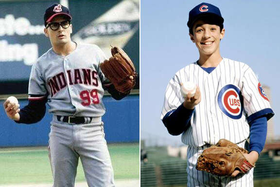 """Ricky """"Wild Thing"""" Vaughn (Charlie Sheen, left) and Henry Rowengartner (Thomas Ian Nicholas, right) were two of the most feared pitchers in baseball in the early 90s ... even if they were fictional characters."""
