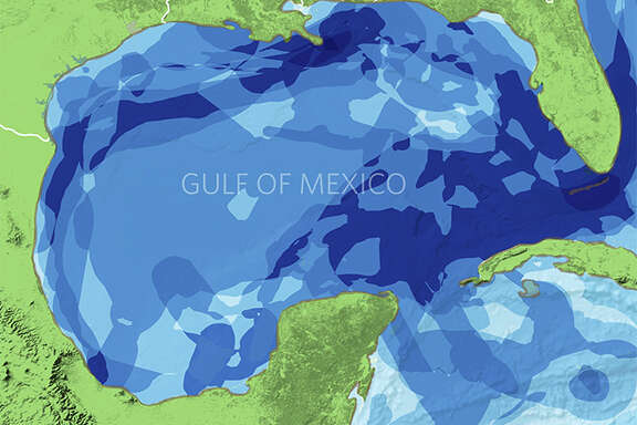 The Nature Conservancy has issued a report that maps several migratory pathways in the Gulf of Mexico.