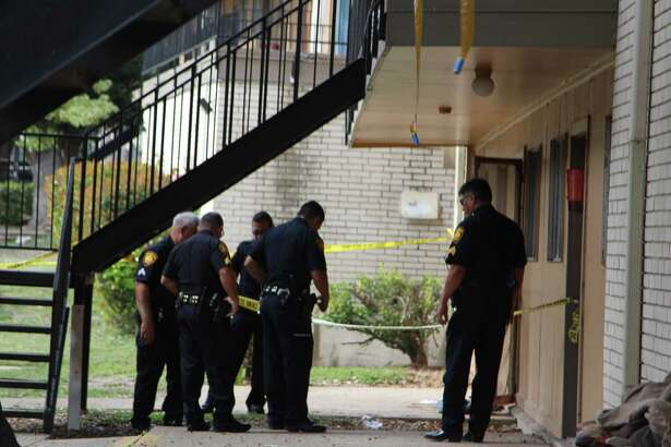 The San Antonio Police Department responded to a shooting on Oct. 25, 2016, at an apartment complex in the 2000 block of Bandera Road.