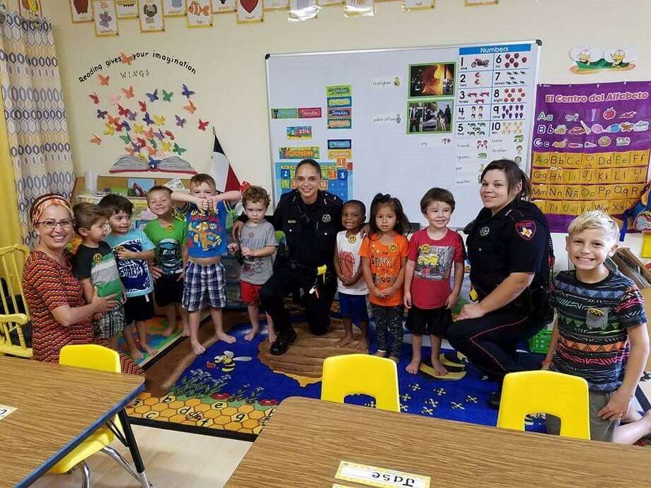 On Oct. 14, Constable Mark Herman's office had the privilege of interacting with children at a local preschool in the Atascocita area. The children had learned all week about those who work to help the community such as firemen, EMS and police officers. On the last day of the week, deputies showed up at their school and surprised the kids with badges, coloring books and allowed them to sit in patrol cars. Photo: Courtesy