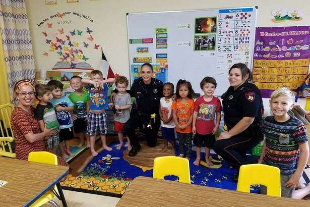 On Oct. 14, Constable Mark Herman's office had the privilege of interacting with children at a local preschool in the Atascocita area. The children had learned all week about those who work to help the community such as firemen, EMS and police officers. On the last day of the week, deputies showed up at their school and surprised the kids with badges, coloring books and allowed them to sit in patrol cars.