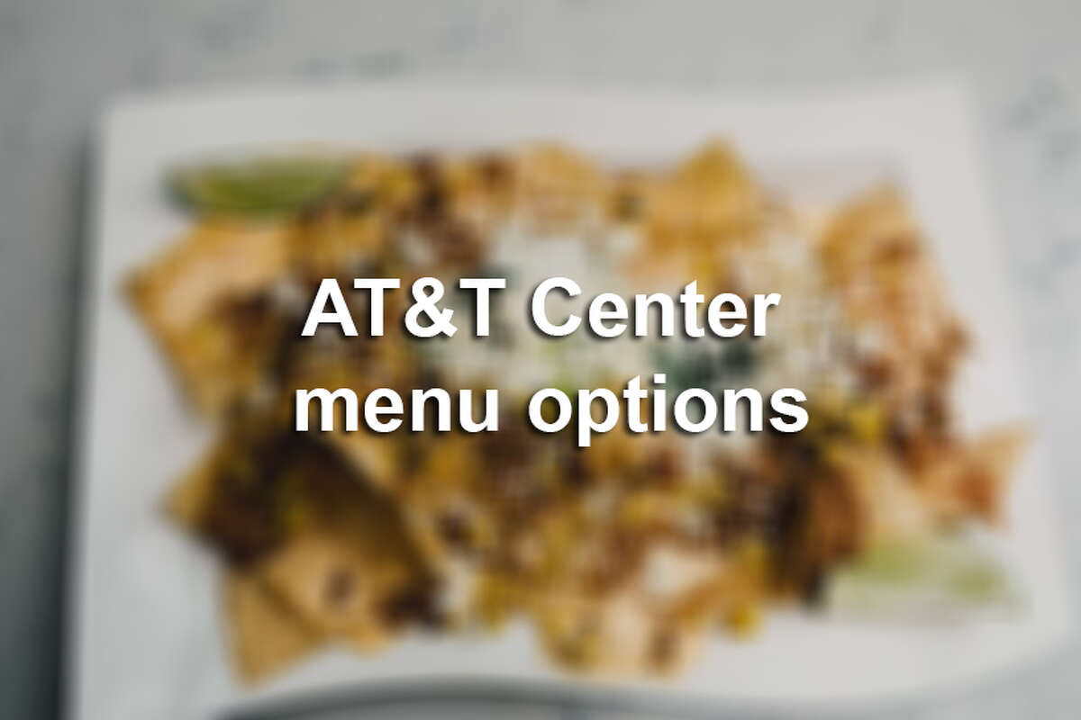 Click ahead to see what AT&T Center has on the menu.