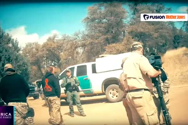 """Militia groups along the U.S.-Mexico Border consider themselves to be """"the wall,"""" taking matters into their own hands and fighting to keep undocumented immigrants out of the country, until Donald Trump is elected president, they said, an investigation by Mother Jones published Oct. 25, 2016 revealed."""