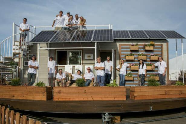 Santa Clara Unversity rEvolve tiny house.
