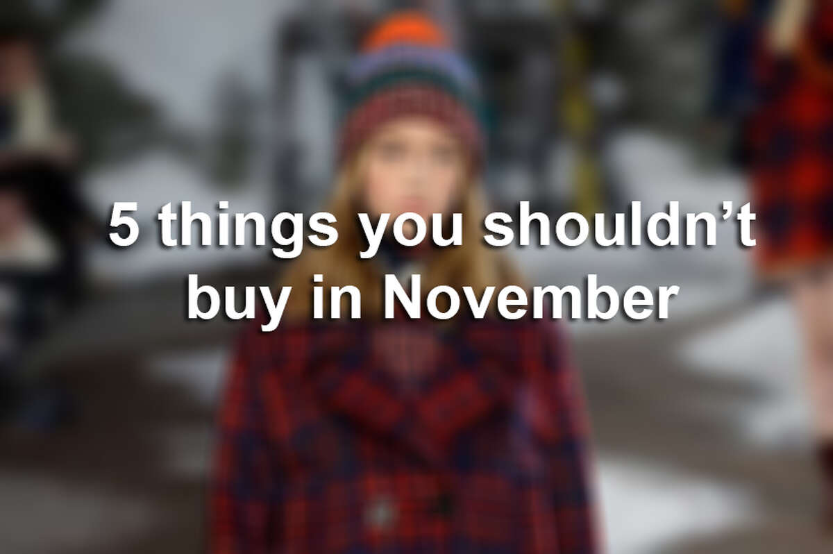 5 things you shouldn't buy in November or on Black Friday, according to Deal News.