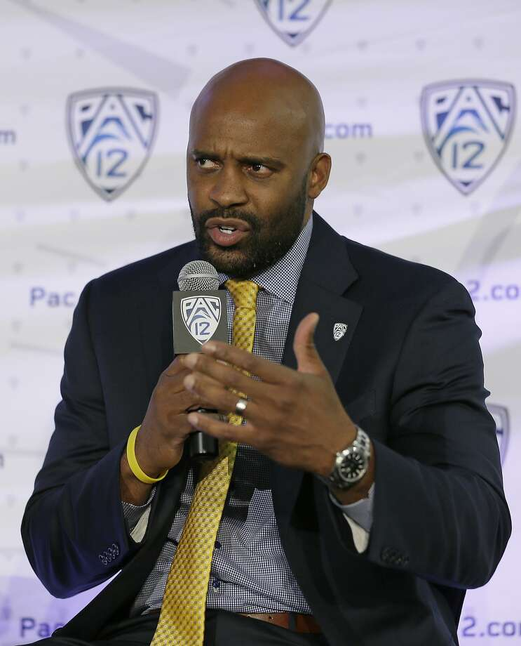 California head coach Cuonzo Martin answers a question during NCAA college basketball Pac-12 media day Friday, Oct. 21, 2016, in San Francisco. (AP Photo/Eric Risberg) Photo: Eric Risberg, Associated Press