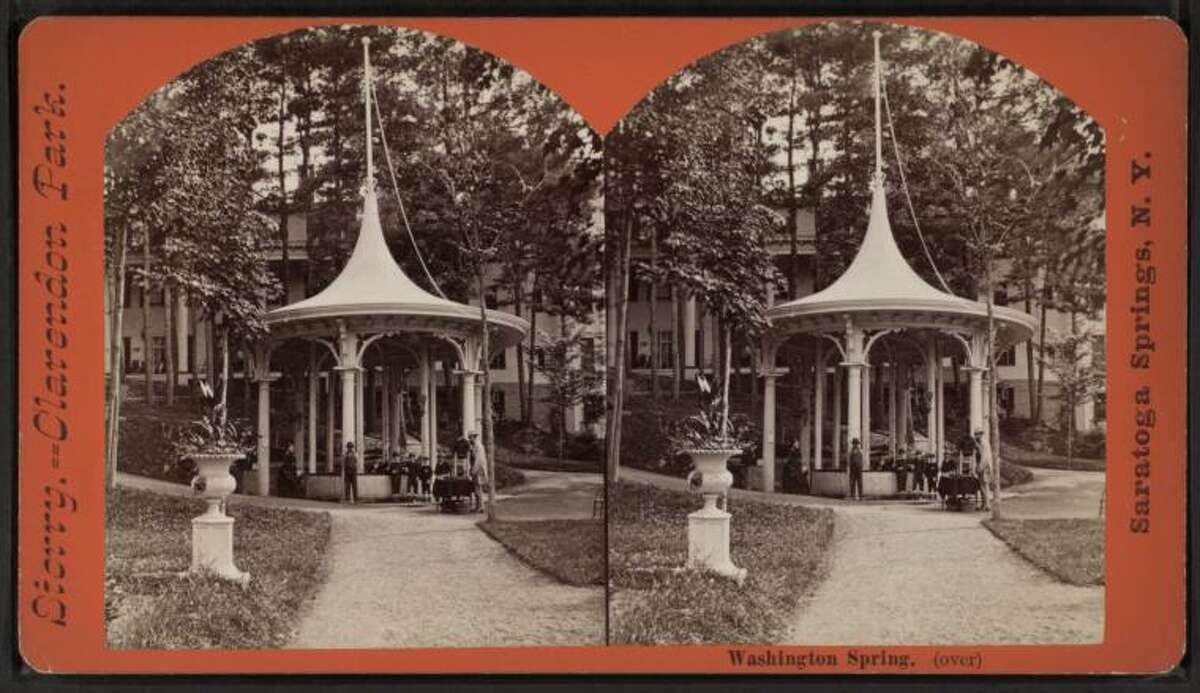 Washington Spring in Saratoga Springs.
