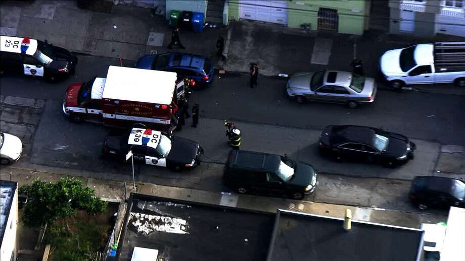 Police and other officials were investigating an incident in San Francisco's Ocean View neighborhood on Tuesday, Oct. 25, 2016. Photo: KTVU