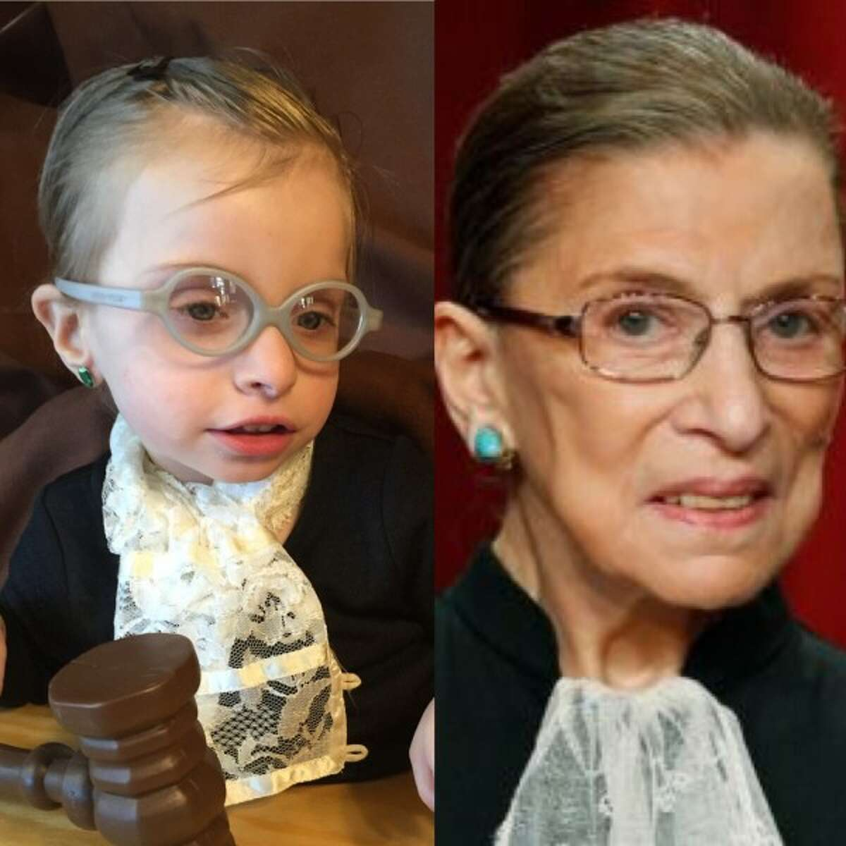 RUTH BADER GINSBURG (2015): Mother Andrea wrote in: