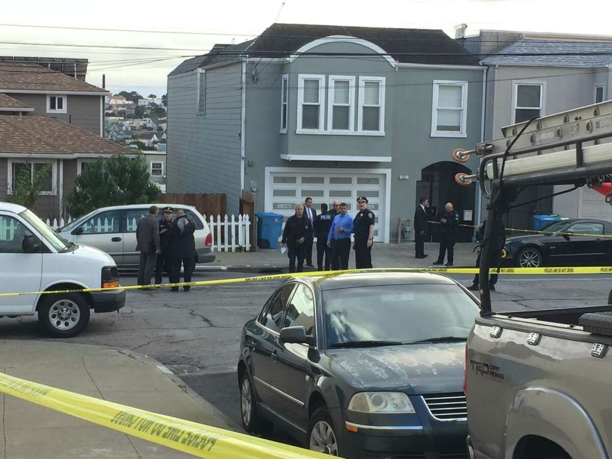 San Francisco police were investigating an officer-involved shooting Tuesday involving a California Highway Patrol officer.