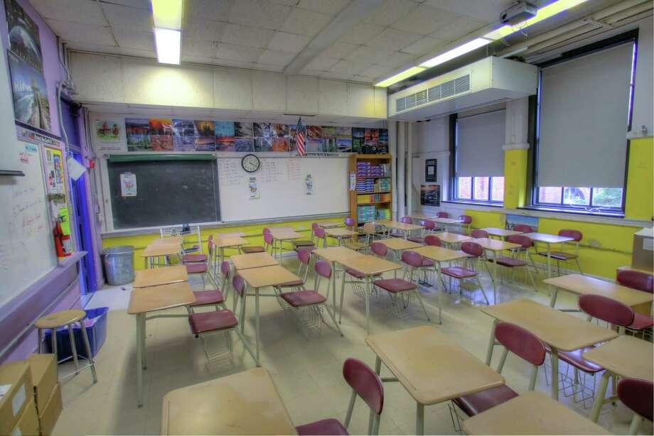 A school classroom. Photo: Matthew White, Freelance / Freelance