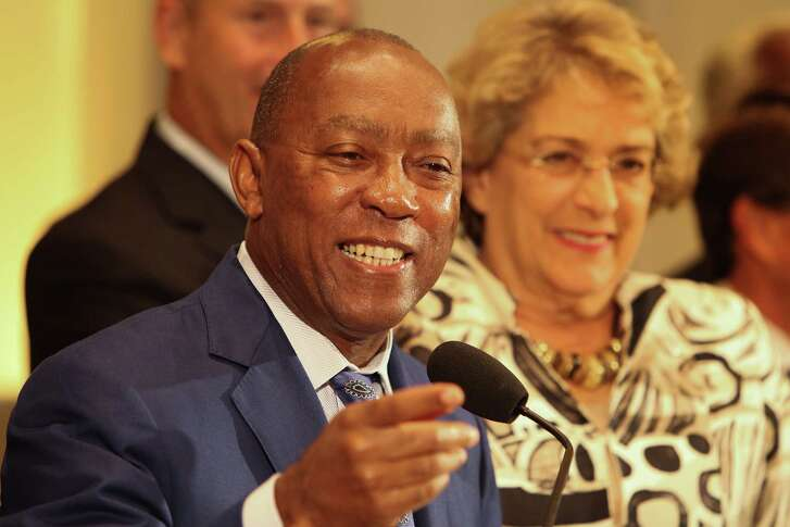 Don't pop the champagne just yet, but Mayor Sylvester Turner in undeniably closer to the long elusive goal of pension reform than any of his predecessors. ( Steve Gonzales  / Houston Chronicle )