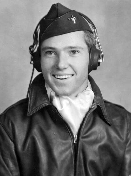 Capt. John Billings righted his plane after a 6,000 foot drop, calling it 'exciting.' He took the B-24 to 300 feet above a frozen league.. Photo: Courtesy Of The OSS Society / Courtesy of the OSS Society
