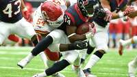 Texans work out linebacker Dezman Moses - Photo