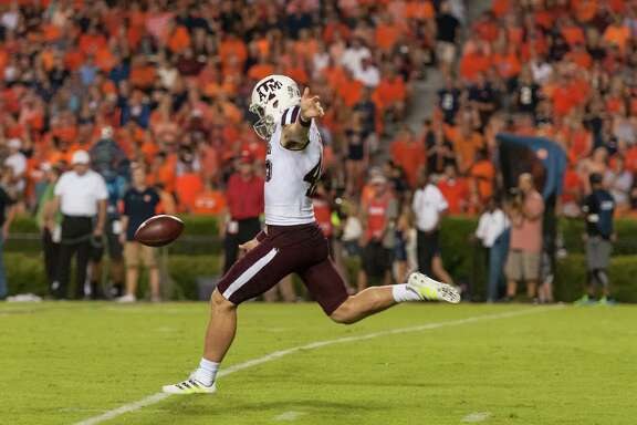 Shane Tripucka is averaging 43.4 yards per punt.