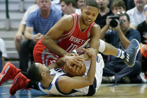 Rockets guard Eric Gordon, top, has grabbed a starting role for what he intends to be a career year.