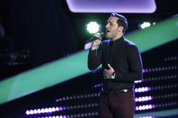 "Ponciano Seoane, who works at Methodist Hospital and performs at the Holiday Inn Riverwalk, sings on ""The Voice."""