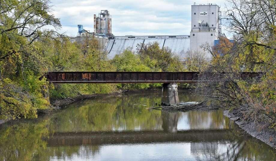 The Normanskill Rail Bridge at the Port of Albany Tuesday Oct. 25, 2016 in Albany, NY.  (John Carl D'Annibale / Times Union) Photo: John Carl D'Annibale / 20038553A