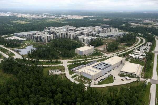 Exxon Mobil Houston Campus, Tuesday, May 17, 2016, in The Woodlands, Texas. ( Gary Coronado / Houston Chronicle )