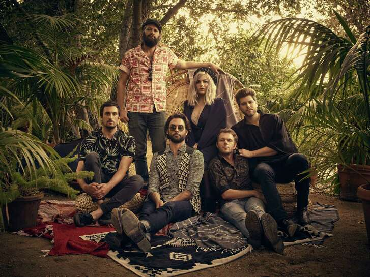 The Head and the Heart perform at the Greek Theater in Berkeley on Saturday, Oct.8.