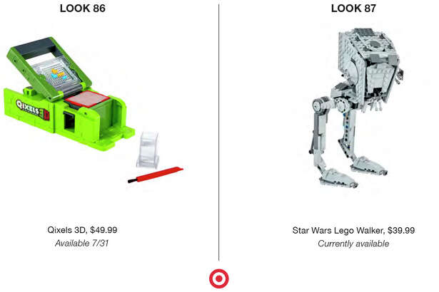 Target's Holiday 2016 Look Book showcases the retailer's top gift picks in toys, clothes, electronics, food and more.