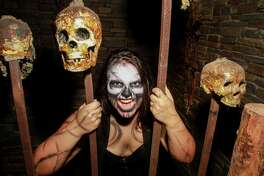 Kassidy Fajardo is waiting for you in the Dungeon at ScreamWorld. The Dungeon and the House of Heads are new attractions for the 2016 season of scares.