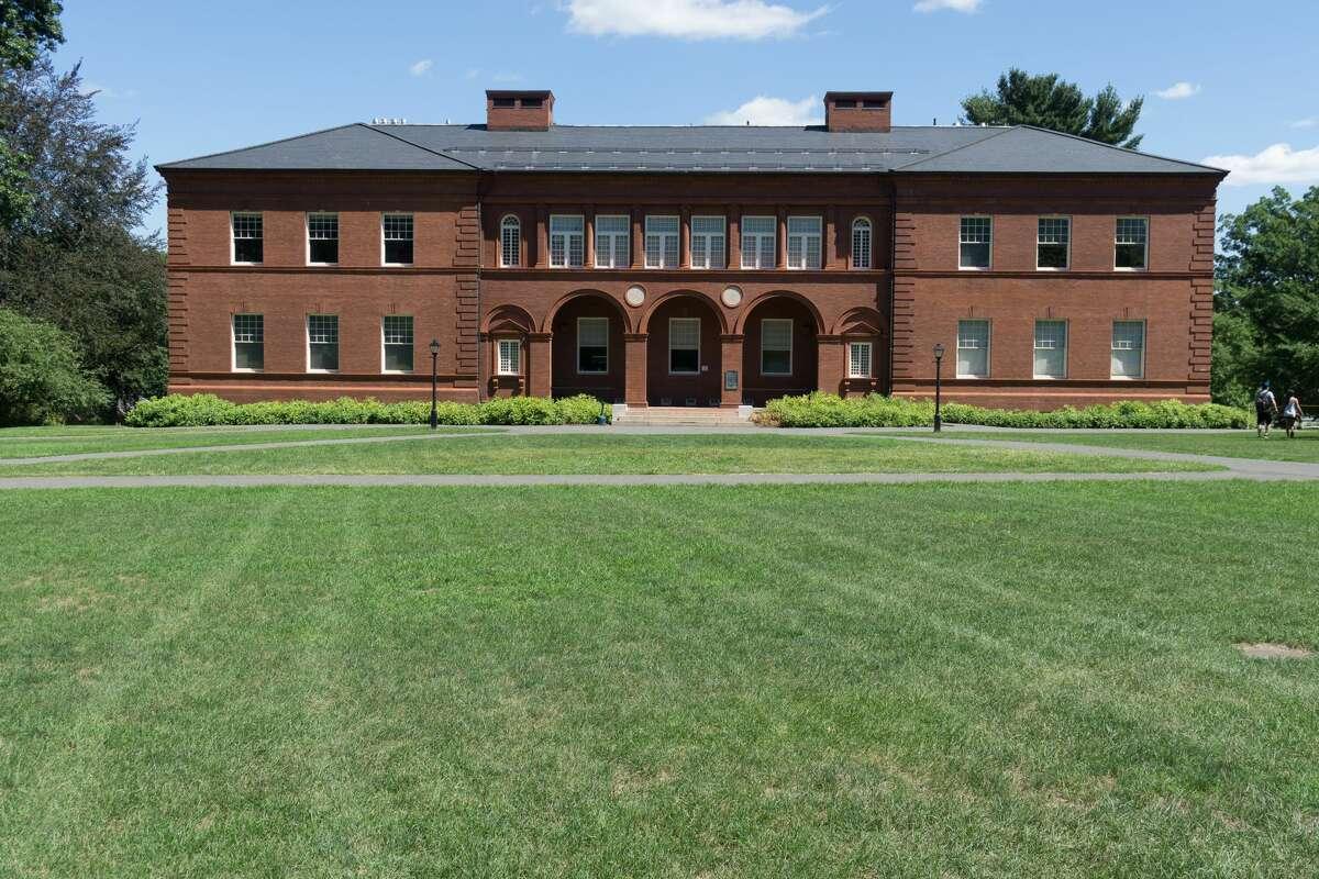 23. Amherst CollegeWhere: Amherst,MassachusettsSAT range: 1360-1555Acceptance rate: 14 percentNet price: $20,000