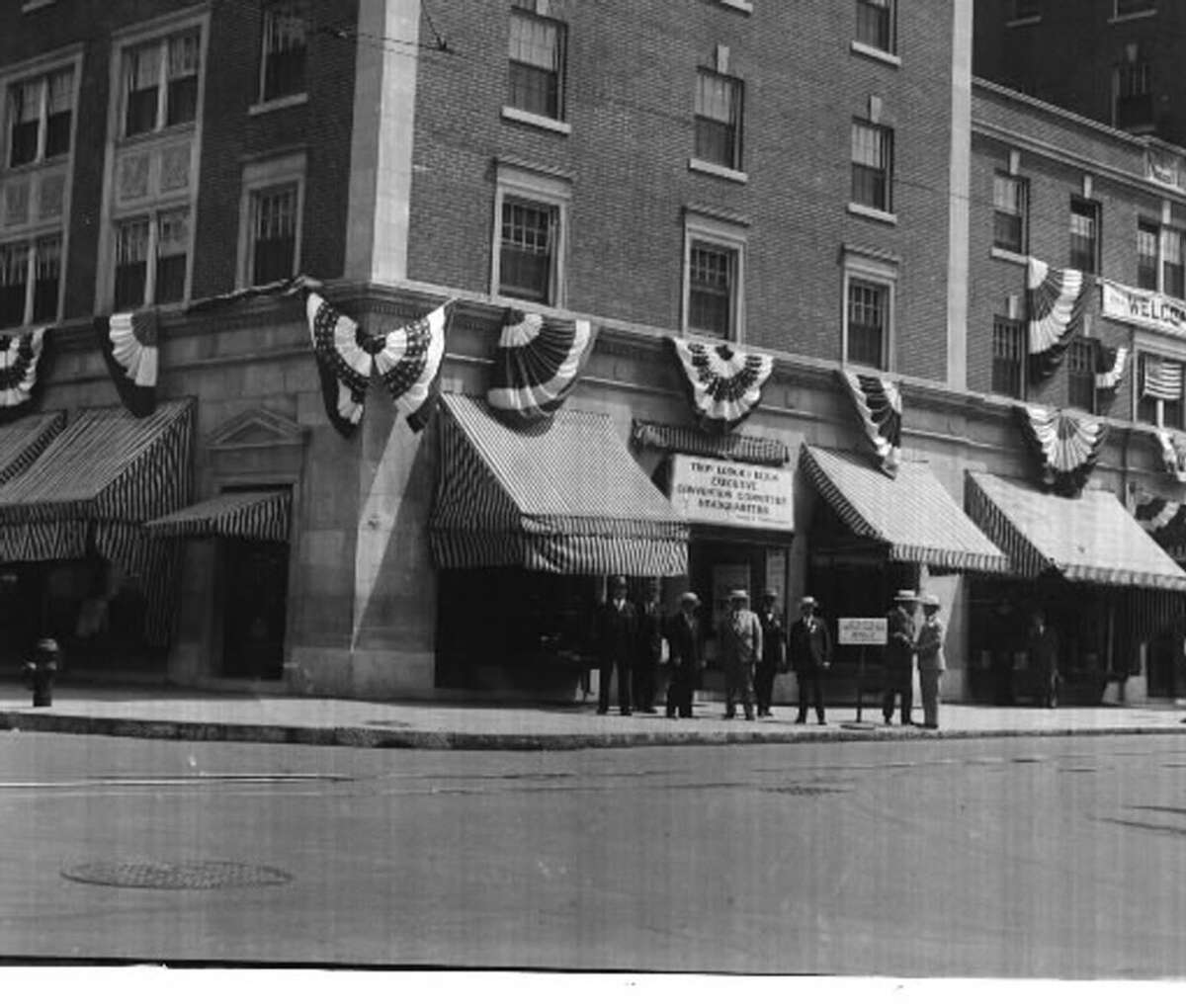 1927. Hendrick Hudson Hotel in Troy, as seen on June 6, 1927. In March 1966, fire routed about 100 guests from the seven-story hotel, causing heavy damage to five rooms on the second floor. (Times Union archive)