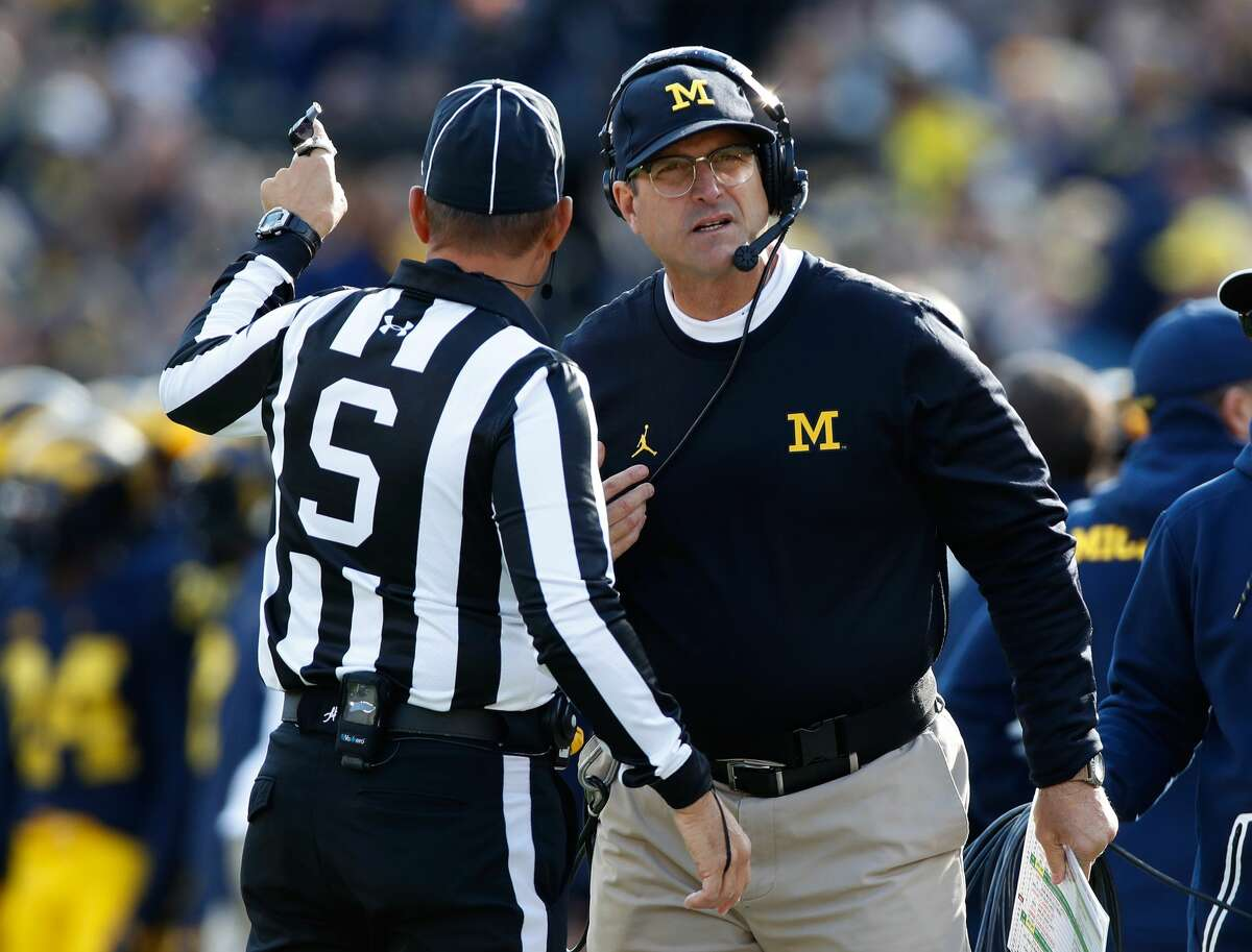 HIGHEST-PAID COLLEGE FOOTBALL COACHES 1. Jim Harbaugh, Michigan Annual salary: $9,004,000