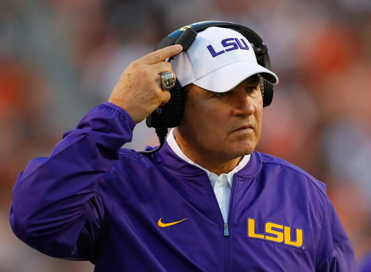 COLLEGE FOOTBALL COACHES SALARY PER WIN Les Miles, LSU Record: 2-2 (when he was fired Sept. 25) Paid per win: $2,192,783
