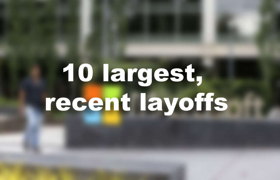 10 largest, recent layoffs Photo: AP