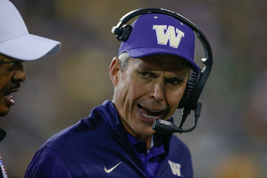 TOP CANDIDATES FOR TEXAS A&M HEAD COACHING JOBCHRIS PETERSEN, WashingtonScott Woodward hired Petersen from Boise State and the Huskies made the College Football Playoff last year in only Petersen's third season in Seattle. Despite the prior relationship of Woodward and Petersen, this one still seems like a long shot based on the sunny Californian not having any real connections to this state or the SEC. Tremendous coach, though, who has already led Washington to double digit wins again this season (10-2). Photo: Otto Greule Jr/Getty Images