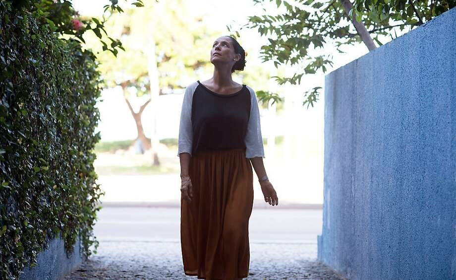 "Sonia Braga plays a widow fighting eviction in ""Aquarius."" Photo: Associated Press"