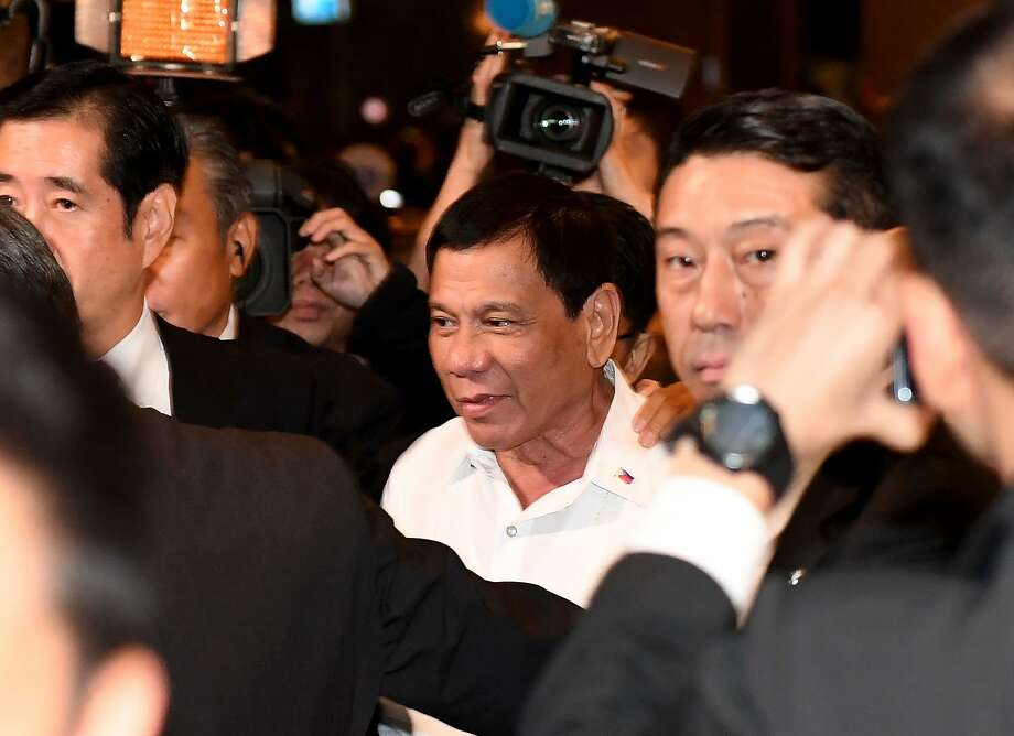 Philippines' President Rodrigo Duterte has alarmed and puzzled Washington with some of his recent remarks. Photo: TOSHIFUMI KITAMURA, AFP/Getty Images