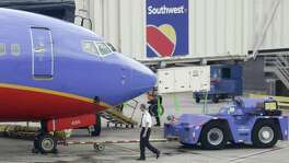 """Revenue from each seat flown a mile will decline as much as 5 percent in the last three months of the year after a 4.1 percent drop in the third quarter, Southwest Airlines said Wednesday. The gloomy forecast may cause investors to """"question the domestic pricing recovery,"""" according to Julie Yates, an analyst at Credit Suisse Group AG."""