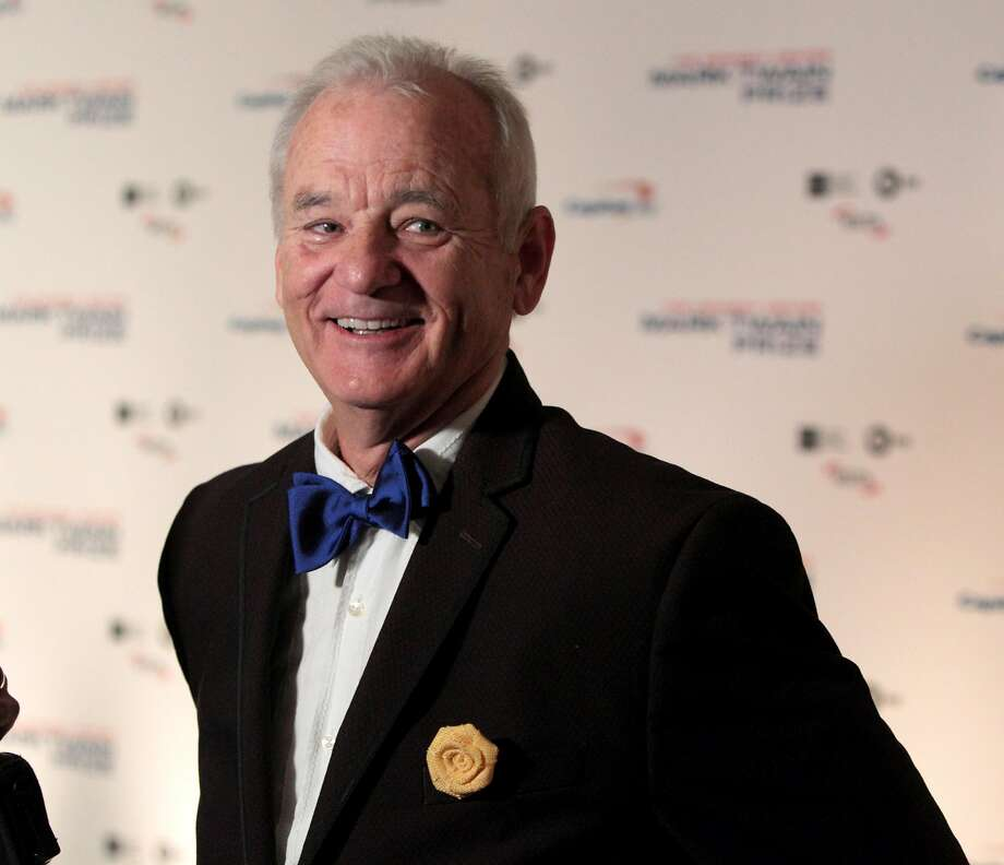 Bill Murray at the Kennedy Center for the Performing Arts. Photo: Owen Sweeney, Associated Press