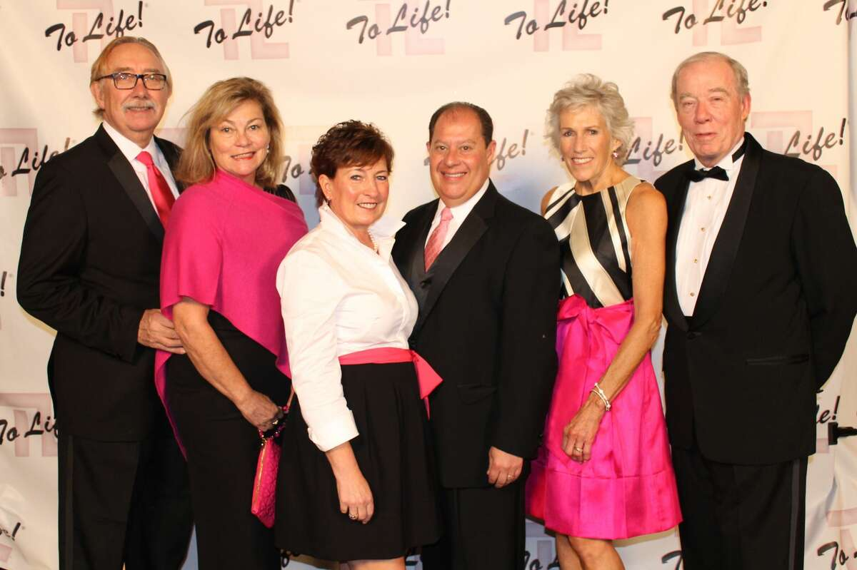 Were you Seen at the 12th Annual Pink Ball, a gala fundraiser for the To Life! organization held at the Hall of Springs in Saratoga Springs on Friday, Oct. 21, 2016? To Life! provides education and support services for individuals who are dealing with breast cancer. Pictured: Buzz and Mylea Aldrich, Barb and Steve Ferraro and Lisa and Bill Noonan.