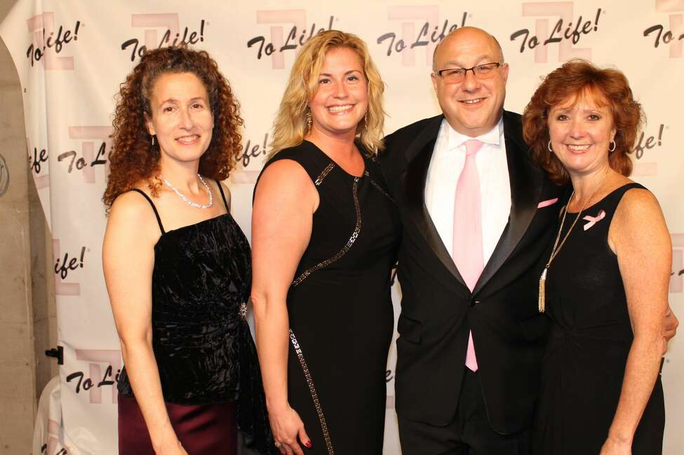 Were you Seen at the 12th Annual Pink Ball, a gala fundraiser for the To Life! organization held at the Hall of Springs in Saratoga Springs on Friday, Oct. 21, 2016? To Life! provides education and support services for individuals who are dealing with breast cancer. Pictured: Vicki Chase, Cassie Prugh, Steve Greenberg and Diane Lombardi.