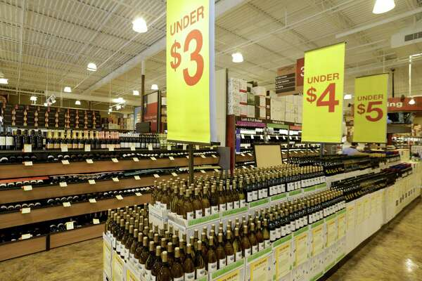 An interior view of Total Wine, 7640 Cypress Creek Parkway, is shown Tuesday, Oct. 25, 2016, in Houston.  Total Wine is a new-to-market liquor store that will opening soon in the Willowbrook area. ( Melissa Phillip / Houston Chronicle )