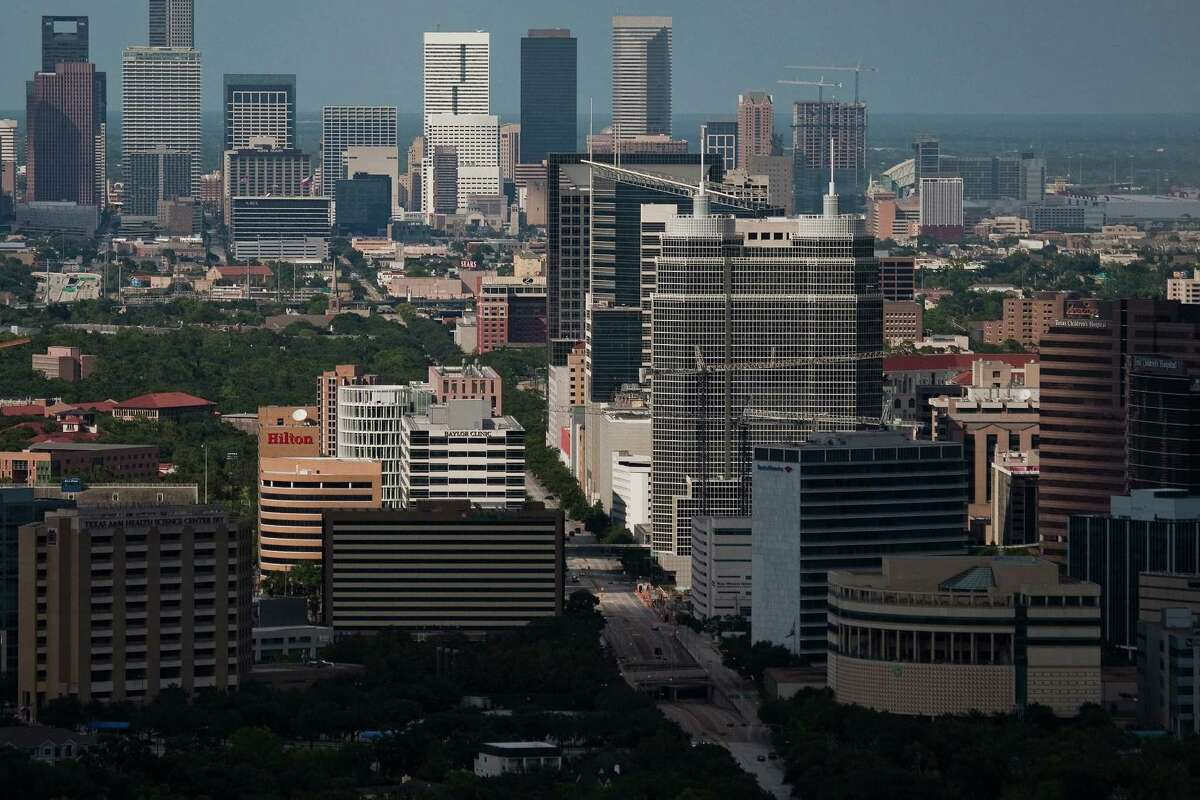 The Texas Medical Center has grown from a handful of institutions on 134 acres of land in the 1940s to 54 institutions on 1,345 acres today, the largest complex of its kind in the world. But its big change in the next 25 to 50 years may be more philosophical than physical -- if it becomes the destination only for patients on clinical trials. ( Smiley N. Pool / Chronicle )