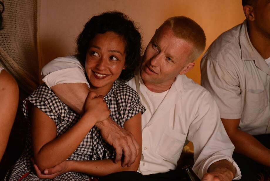 """L-R: Ruth Negga and Joel Edgerton in a scene from """"Loving"""" opening at Bay Area theaters on Friday, Nov. 11. Photo by Ben Rothstein, courtesy of Focus Features. Photo: Focus Features"""