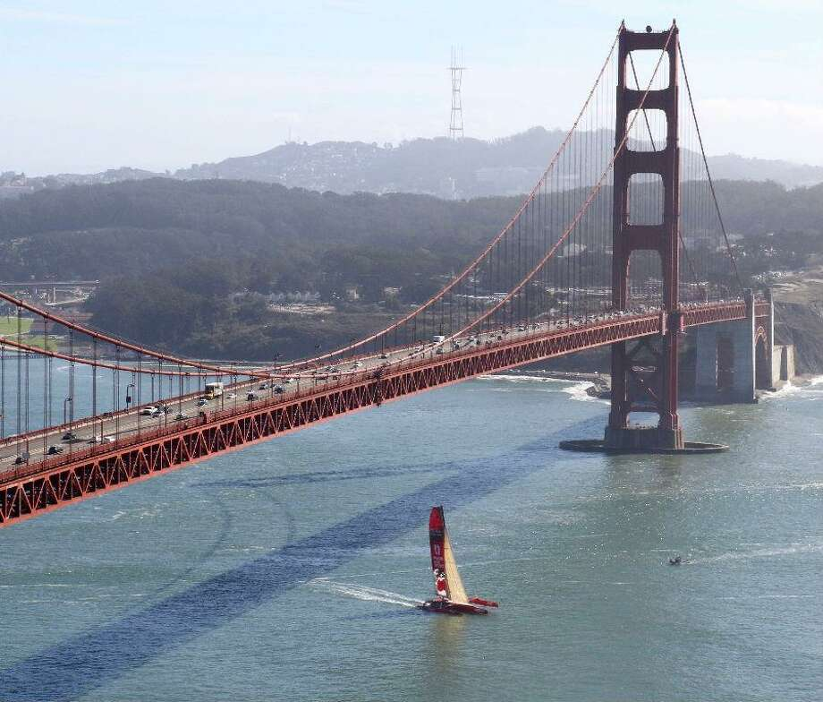 Guo Chuan was trying to break the world record of sailing from San Francisco to Shanghai in fewer than 21 days. He departed the city Oct. 18 and is now missing at sea, according to the Coast Guard. Photo: Guochuanracing.com